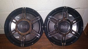 Dual Audio 12 inch subwoofers for Sale in BRECKNRDG HLS, MO