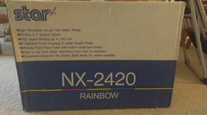 STAR NX 2420 RAINBOW PRINTER for Sale in Reisterstown, MD