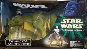 Star Wars Power of the Force 32 inch Dewback and Sandtrooper Action Collection for Sale in Gilbert, AZ