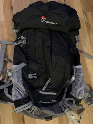 Mountaintop 50L Hiking Backpack for Sale in New York, NY