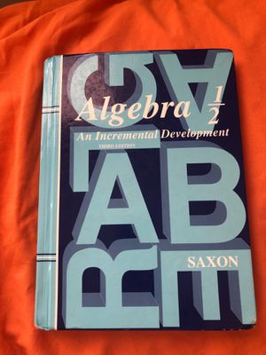 Saxon Algebra 1/2 with test forms for Sale in Virginia Beach, VA