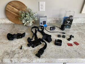 GoPro Hero 7 Black and Dual Battery Charger for Sale in Tipp City, OH