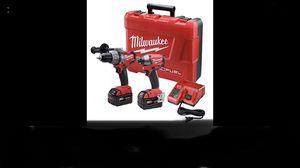 Milwaukee fuel m18 drill and driver combo for Sale in Des Moines, WA