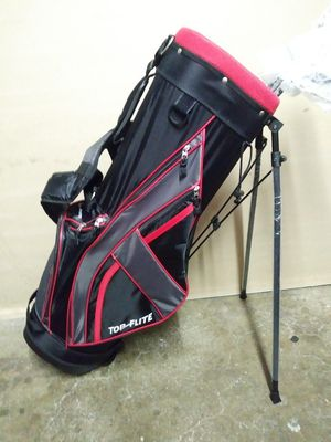 TOP-FLITE Gamer Golf Stand Bag w/golf clubs #5 to #9. *Brand New* for Sale in San Francisco, CA