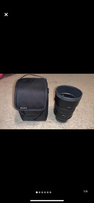 Sony 85mm f1.4 G Master Lens for Sale in Midland, TX