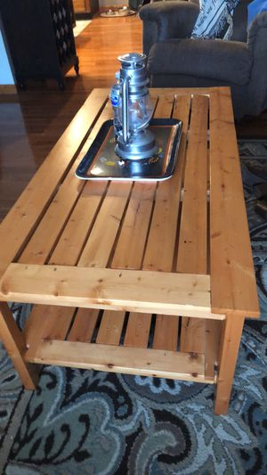 Handmade solid wood coffee table for Sale in Marietta, OH