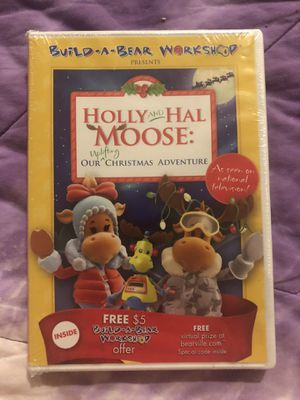 New Build a Bear Holly & Hal Moose DVD for Sale in Riverside, CA