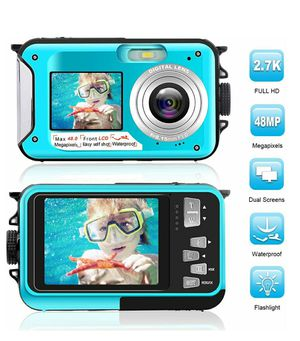Waterproof Camera, FHD 2.7K 48MP, 16x Zoom NEW ½ RETAIL for Sale in Virginia Beach, VA