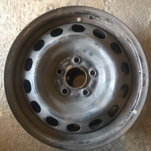 16x6.5 Black Steel Wheels for Sale in Arcadia, CA