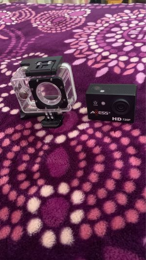 Axess HD 720p Waterproof Action Camera-Black for Sale in Chino, CA