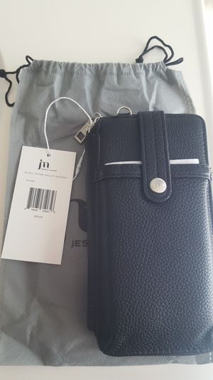 New! Jessica Moore Cell Phone Wallet w/ Strap for Sale in Moreno Valley, CA