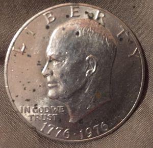 1976 bicentennial $1 USA coin for Sale in Gibsonton, FL