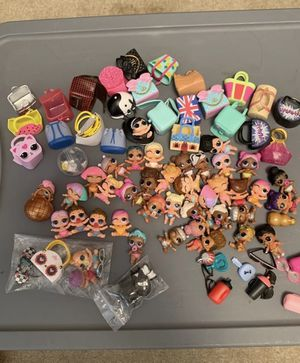 Lol surprise doll lot....lil sisters for Sale in Seattle, WA