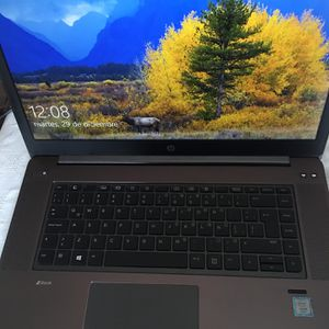 """ZBook Hp Studio G3, Black 15.6"""" for Sale in Dallas, TX"""