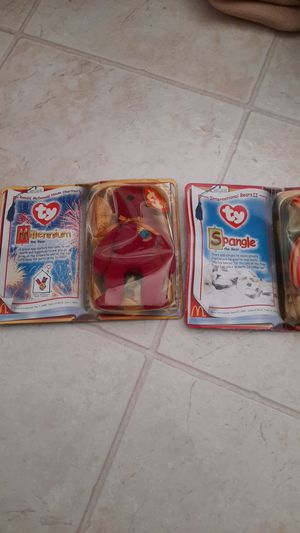 Ronald mcdonald teenie beanie baby still in package 1999 year for Sale in Lexington, SC