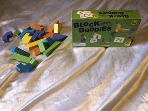 Block buddies game board game puzzle children kids for Sale in Nicholasville, KY