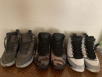 Retro Jordan's 9,10,12 for Sale in Bloomington,  IL