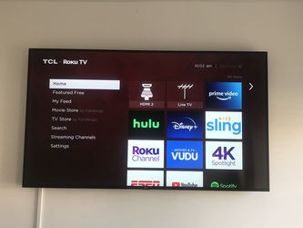 Open box TCL 75 inch Roku Tv 4k for Sale in Los Angeles,  CA