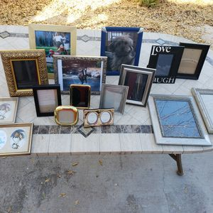 Lot Of Picture Frame Variety for Sale in Chandler, AZ