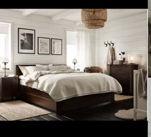 IKEA Brusali bedroom set $250 (QUEEN) for Sale in Boynton Beach, FL