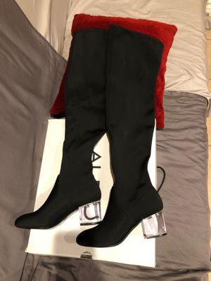 Aldo over the knee boots black for Sale in Los Angeles, CA