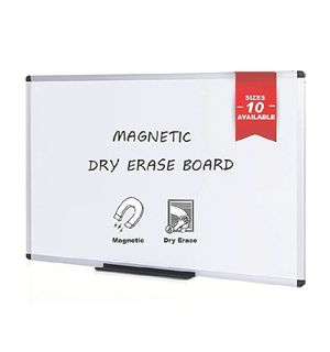 "VIZ-PRO Magnetic Whiteboard/Dry Erase Board, 48 X 36 Inches, Silver Aluminium Frame Amazon'sChoicefor ""white board large"" for Sale in Rancho Cucamonga, CA"