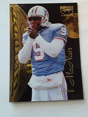 Rookie Pinnacle Zenith 1996 Steve Mcnair Houston Oilers Sports Card for Sale in TIMBERCRK CYN, TX