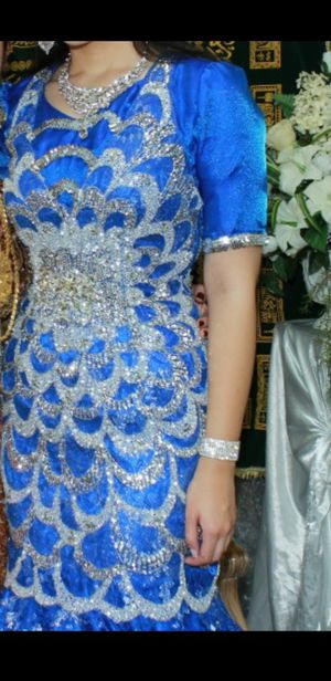 Blue Jovani Dress size 4. Worn once for Sale in North Ridgeville, OH
