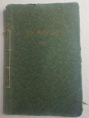 Three Rivers Michigan Mi The Reflector 1913 school Year Book Rare for Sale in Three Rivers, MI