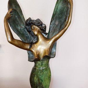 Signed L.Bossin Dragonfly Girl for Sale in Prosper, TX