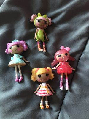 Lalaloopsy Mini Set of 4 for Sale in Manassas, VA