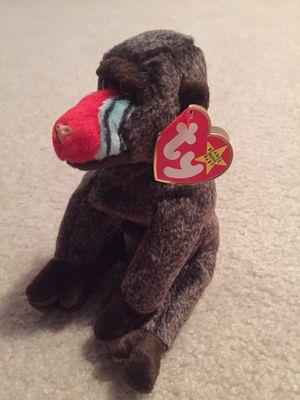 Ty Beanie Baby Cheeks The Baboon for Sale in Wichita, KS