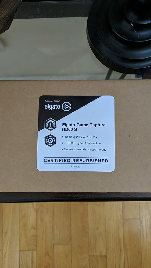Elgato HD60s Capture Card