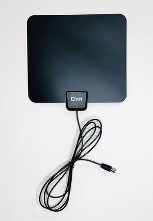 """Brand New $10 Small 7""""x8"""" HDTV Antenna Indoor Flat Local Digital TV Channels, 25 Miles Range for Sale in Downey, CA"""