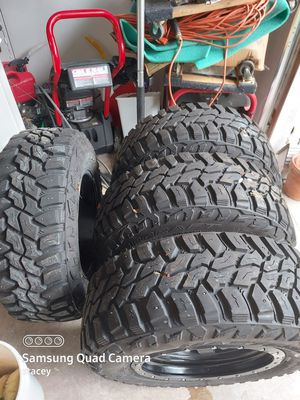 4 snow tires on rims for Sale in Marysville, WA