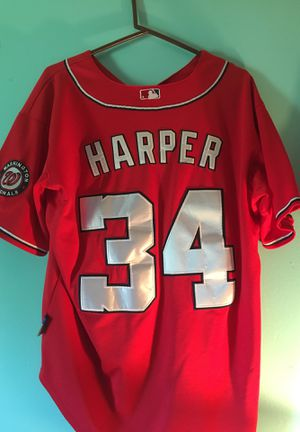 Bryce Harper Nationals Jersey for Sale in Silver Spring, MD