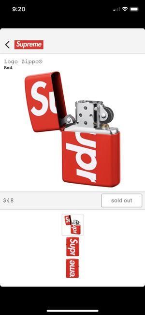 Supreme zippo lighter for Sale in Norwalk, CA