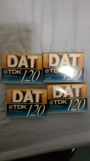 TDK DAT cassette 120 minutes for Sale in Queens, NY