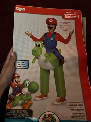 Inflatable yoshi costume for Sale in Whittier, CA