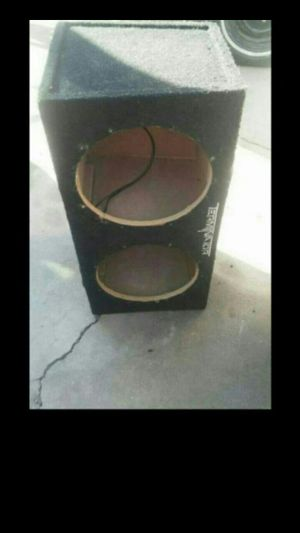 Subwoofer Box for 2 12 inch subs sealed for Sale in Phoenix, AZ