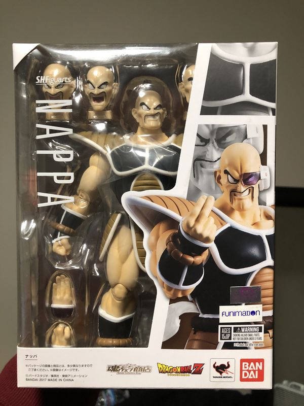 Nappa S.H. Figuarts Dragon Ball Z Collectible Action Figure *BRAND NEW*