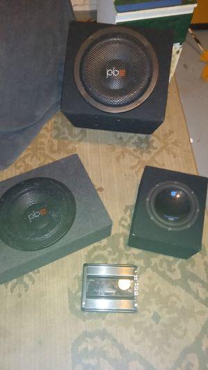 PB sub,amp speaker for Sale in Columbus, OH