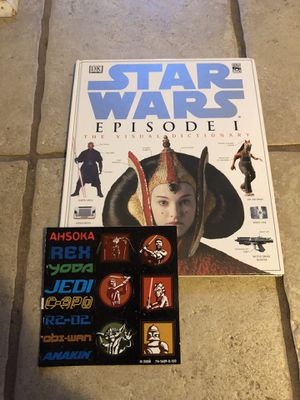 Star Wars Episode 1 Visual Dictionary Book for Sale in Lansing, KS