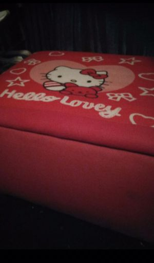 Large Hello Kitty Toy Box for Sale in San Gabriel, CA