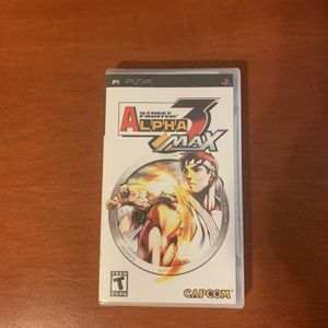 Street Fighter Alpha 3 MAX PSP Game for Sale in Los Angeles, CA