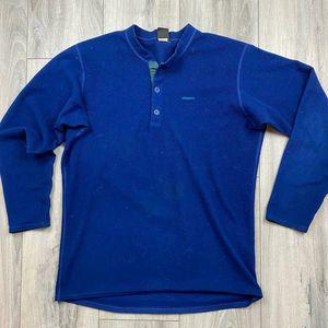 Vintage* Patagonia Capilene long sleeve* mens medium* made in USA for Sale in Spokane, WA