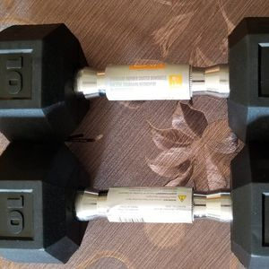 Dumbbells pair Of 10lbs Dumbbells for Sale in Rialto, CA