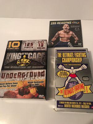 UFC & MMA dvds - vhs for Sale in Crystal River, FL