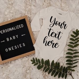Custom Onesie , Personalized Onesie , Pregnant , Newborn for Sale in Spring Valley, CA