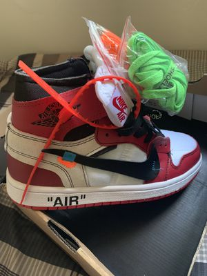 Off White X air Jordan 1 for Sale in Green Bay, WI